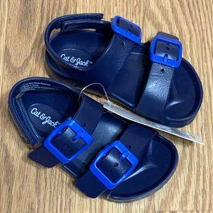 Cat & Jack toddler boy Ade slip on footbed sandals